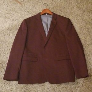 Burgandy jacket